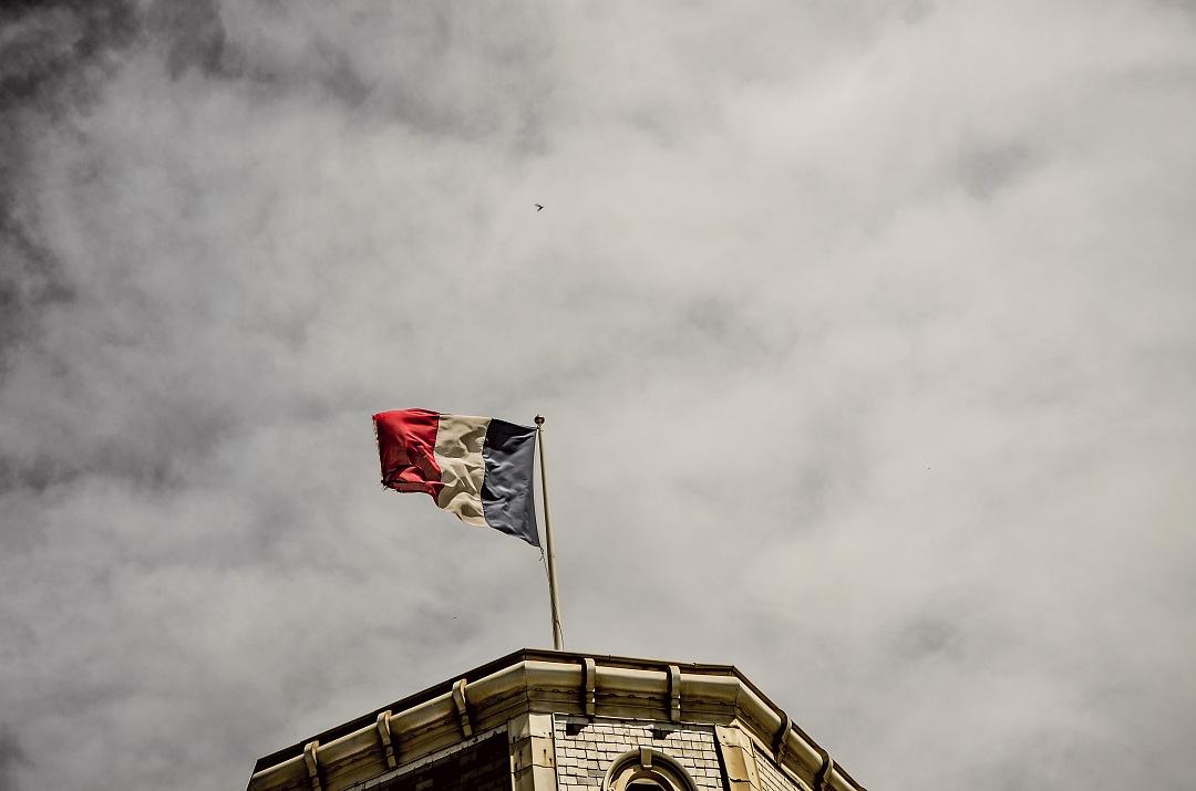 stock photos free  of France Flag Biarritz