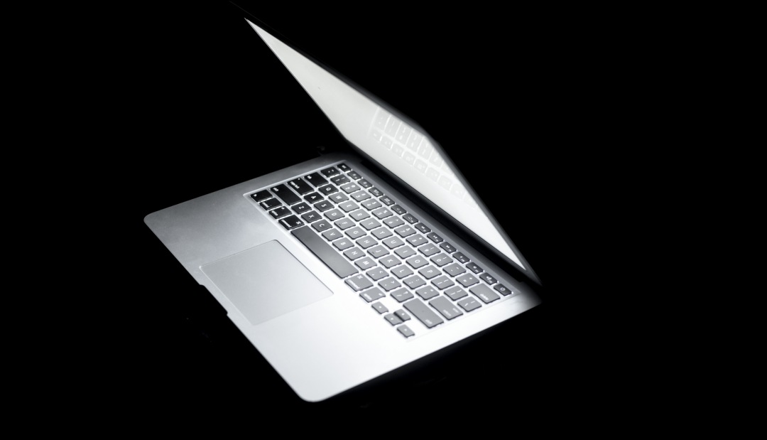 stock photos free  of Macbook air side view