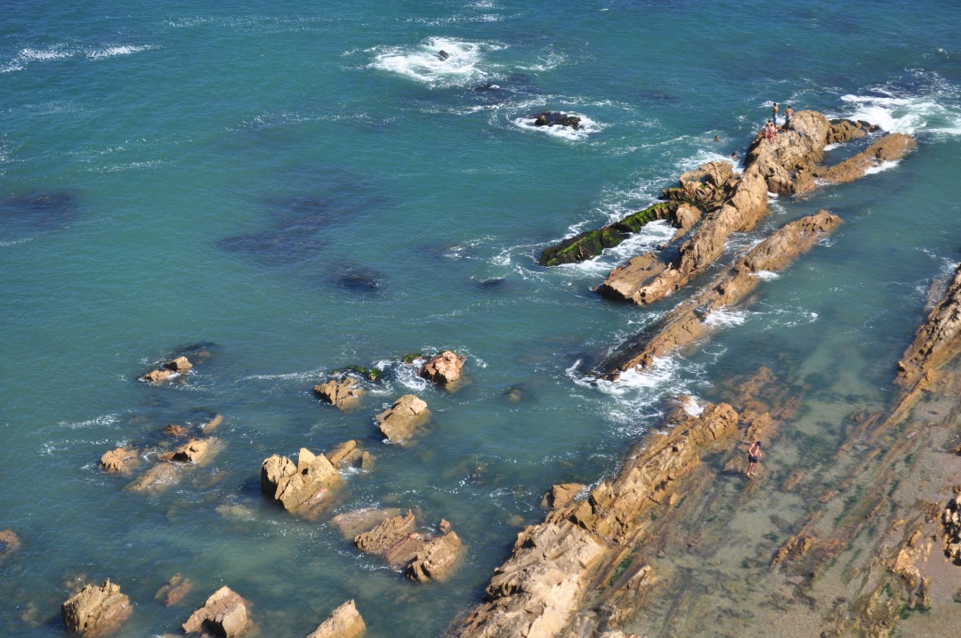 stock photos free  of Aerial View La Paloma Uruguay
