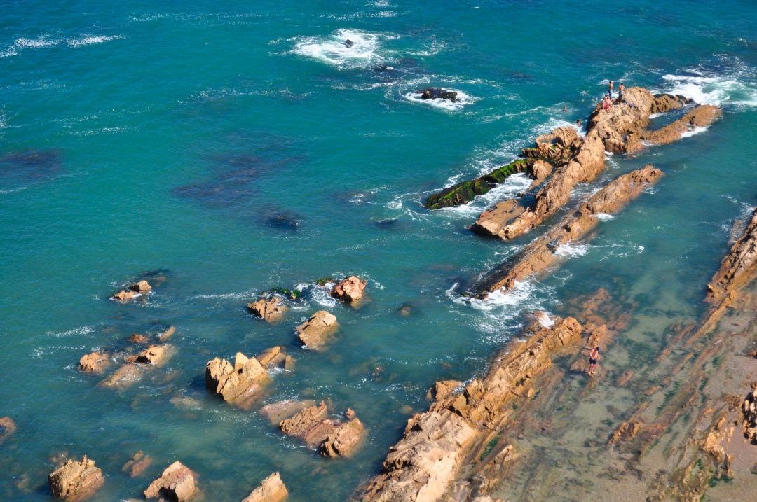 stock photos free  of Aerial View La Paloma Uruguay beach