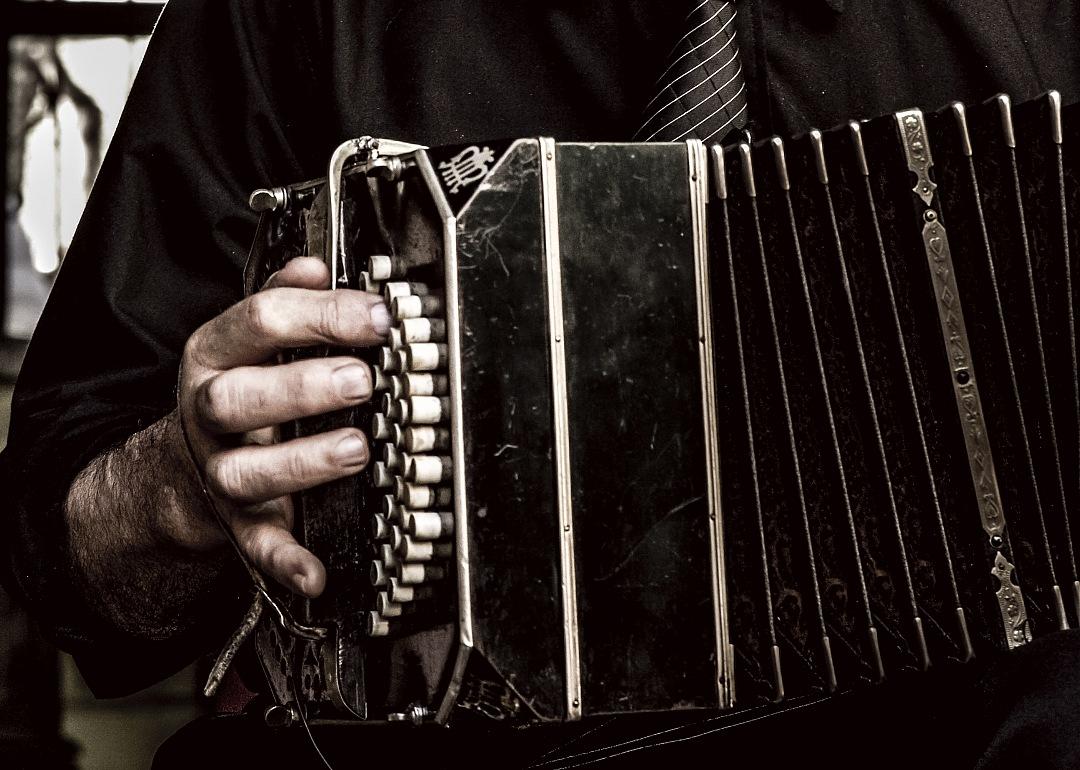 stock photos free  of tango musician playing a bandoneon