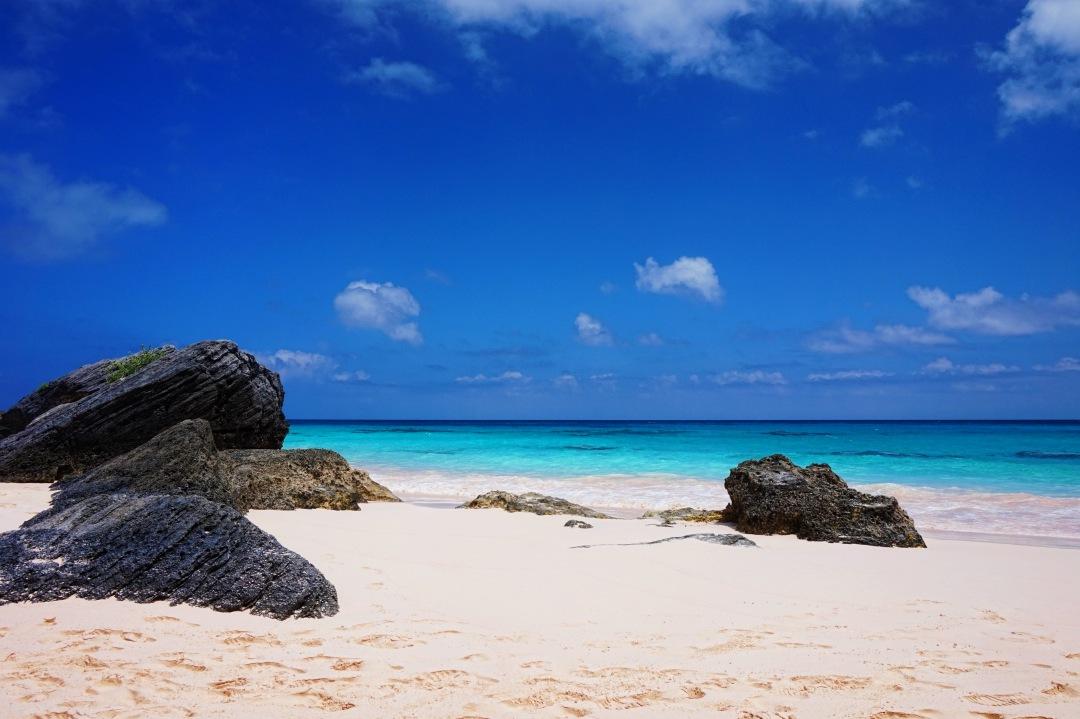 stock photos free  of bahamas beach rocks