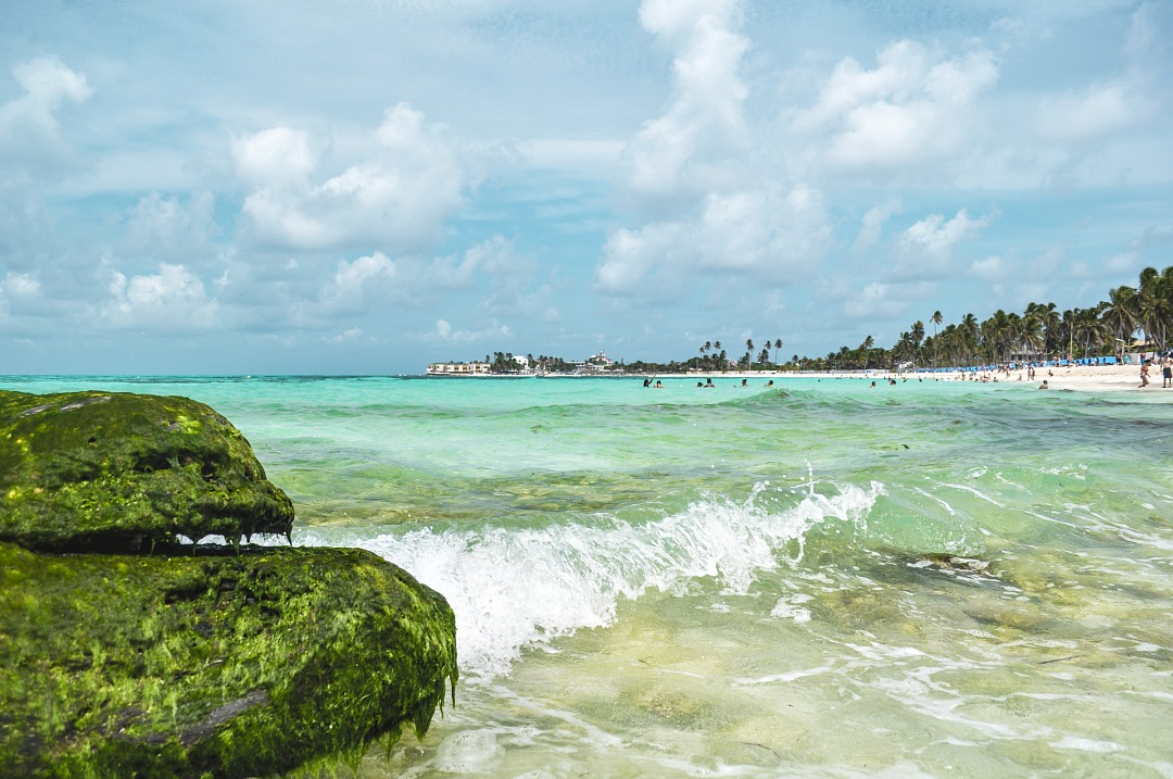 stock photos free  of Landscape San Andres Caribbean beach Colombia