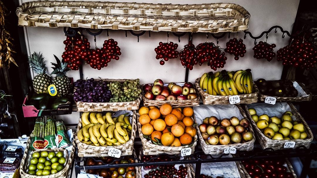 stock photos free  of Market street Rome, Italy