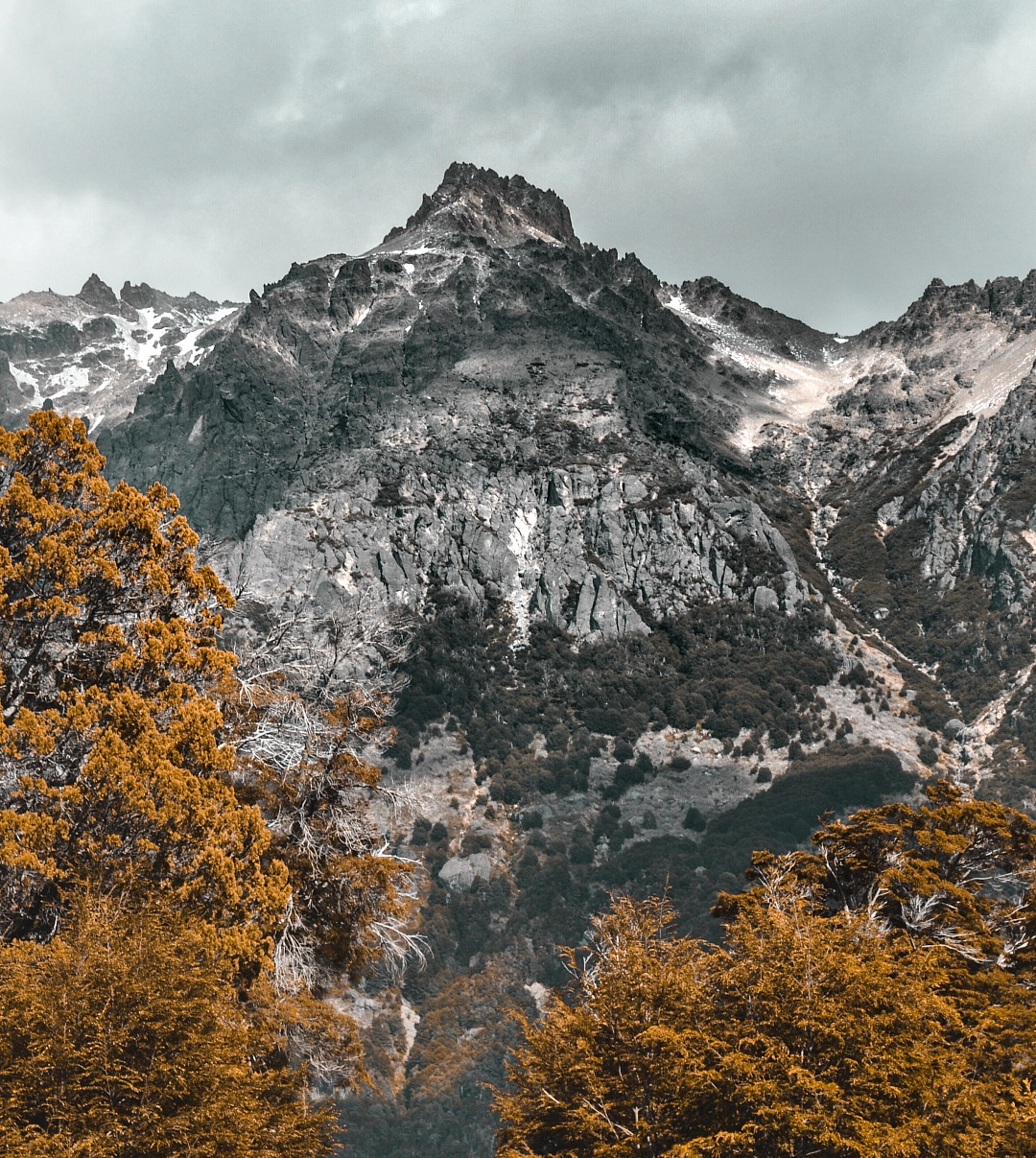 stock photos free  of Mountain landscape teal and orange