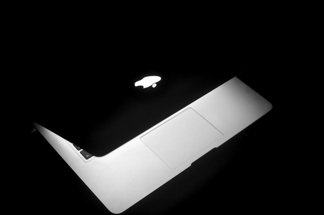 stock photos free  of Macbook pro Laptop at Night