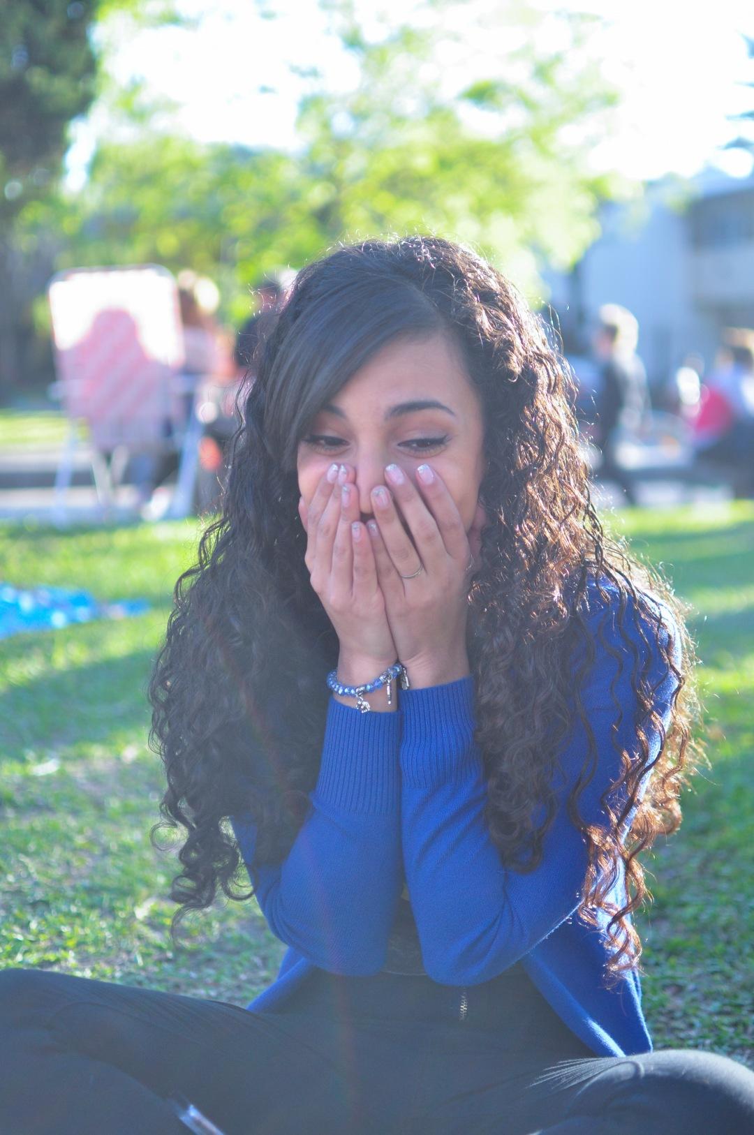 stock photos free  of Latin Surprised woman