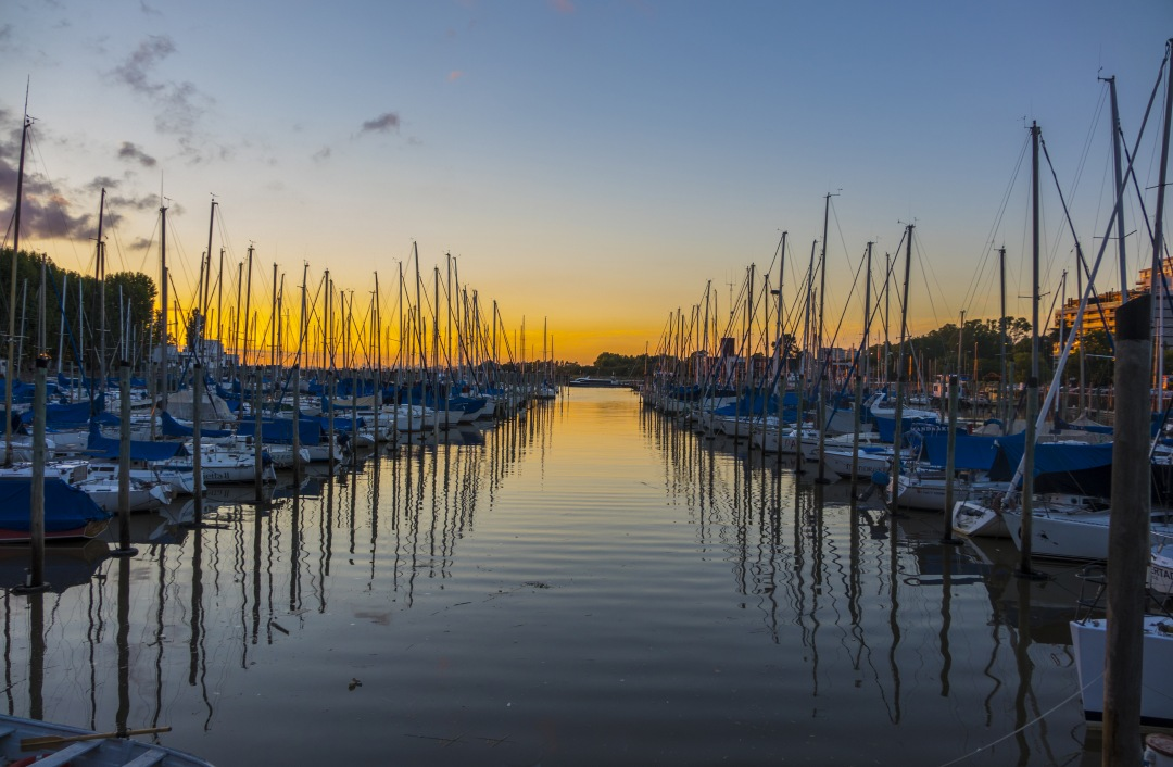 stock photos free  of Dock Olivos Port Of Boats