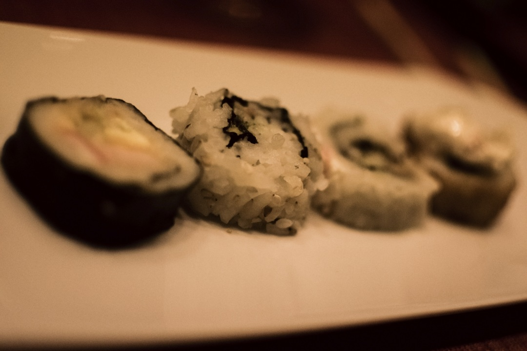 stock photos free  of sushi plate with out focus