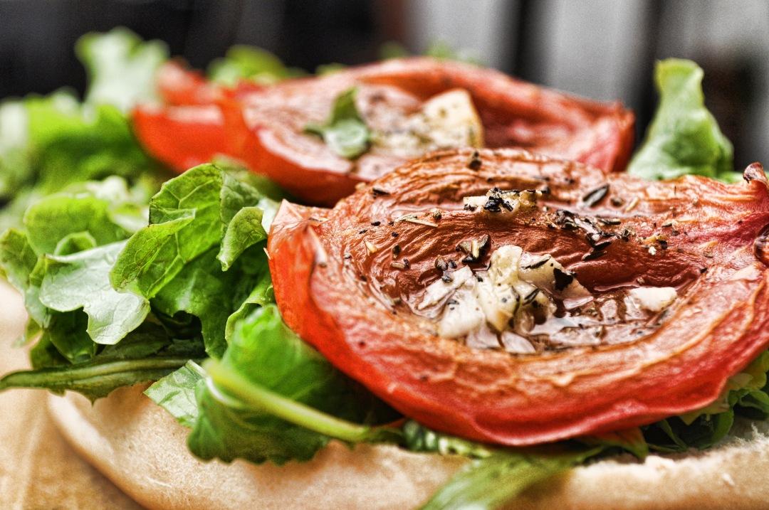 stock photos free  of Tomato Sandwith