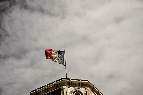 free for commercial use France Flag Biarritz images