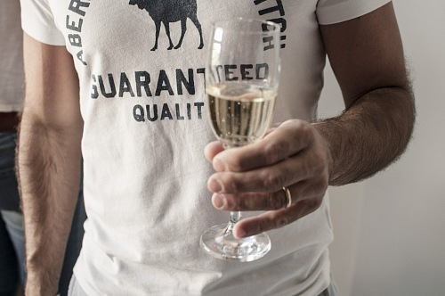 free for commercial use man with a champagne glass celebrating happy new year 2019 images
