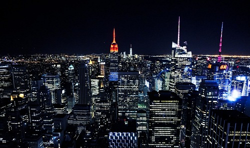 free for commercial use skyline picture of new york city at night images