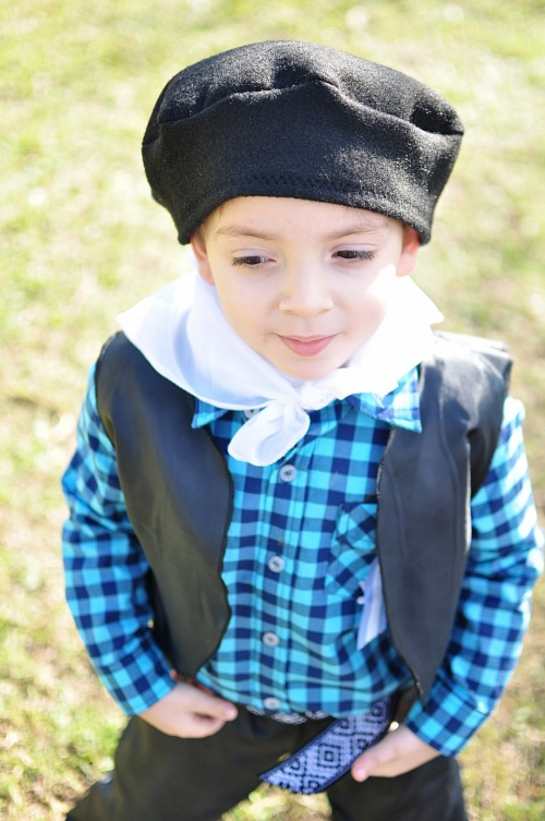 Argentina Gaucho child