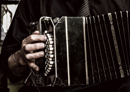 photo tango musician playing a bandoneon free for commercial use images