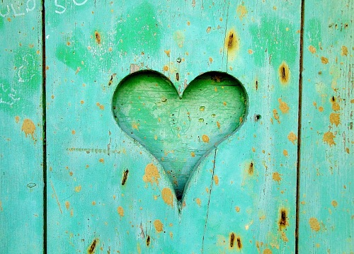 photo Texture wood blue heart free for commercial use images