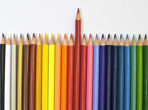 photo Colorful wooden pencils isolated free for commercial use images