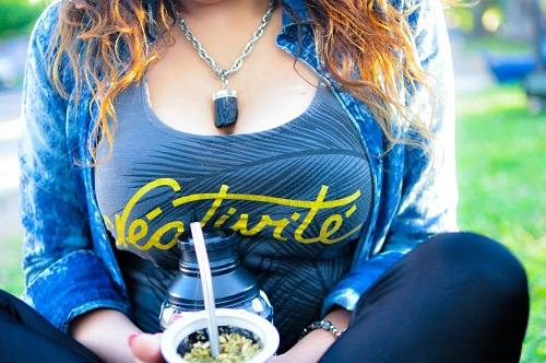 free for commercial use Latin Woman drinking mate images