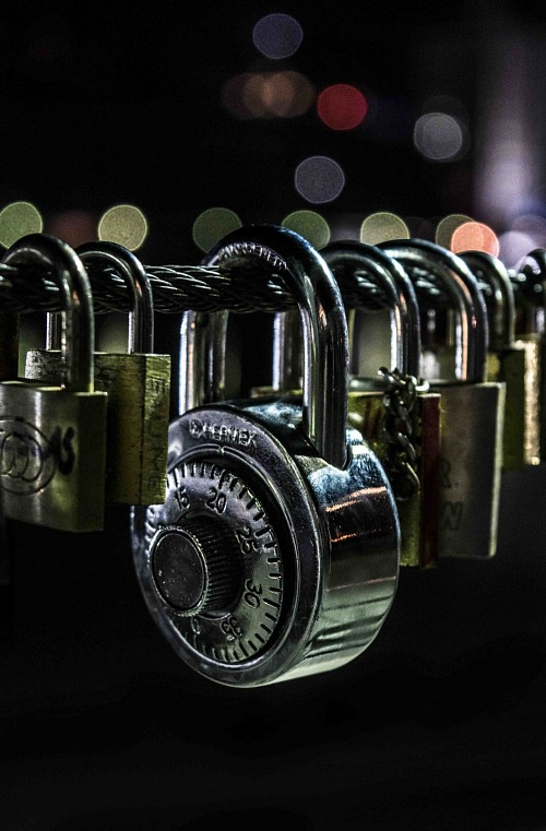 free for commercial use night padLock bokeh images