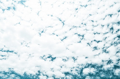 texture of clouds covering the entire heavenly sky