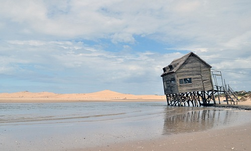 free for commercial use Wood house on valizas beach rocha Uruguay  images